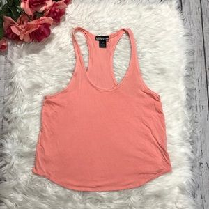 All Access Concert Stretch Peach Blossom Tank Sz S